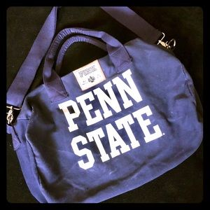 Victoria Secret PINK Penn State duffel bag